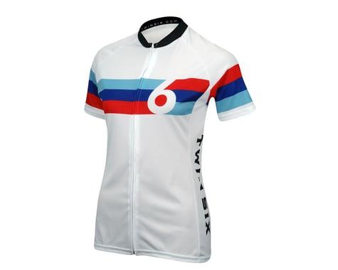 Twin Six Women's Grand Prix Short Sleeve Jersey (White)