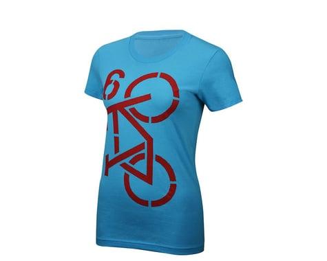 Twin Six Women's Commuter T-Shirt (Teal Gr)