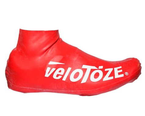 VeloToze Short Shoe Cover 2.0 (Red) (S/M)