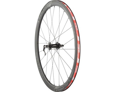 Vision Metron 40 Wheelset - 700c, QR x 100/130mm, HG 11, Center-Lock, Black, Cli