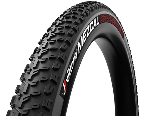 Vittoria Mezcal III Tubeless Gravel Race Tire (Black/Gray) (700c) (35mm)