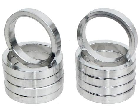 "Vuelta Aluminum Headset Spacers (Silver) (1"") (5mm)"