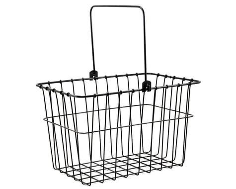 Wald QR Front Handlebar Mount Bike Basket (Black)