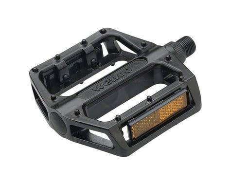 """Wellgo B087 Platform Pedals (Black) (Aluminum) (1/2"""")"""