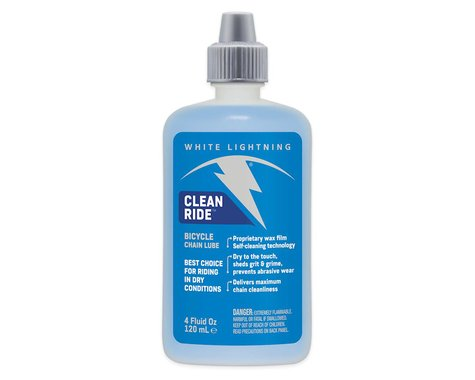 White Lightning Clean Ride Lube Drip Bottle (4oz)