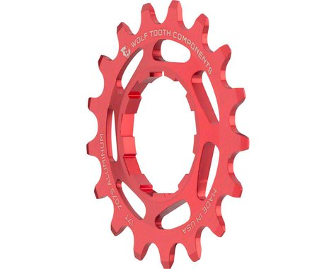 Wolf Tooth Components Single Speed Aluminum Cog (Red) (17T)