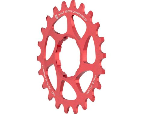 Wolf Tooth Components Single Speed Aluminum Cog (Red) (22T)