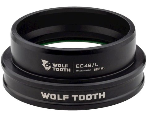 Wolf Tooth Components Lower Headset (Black) (EC49/40)