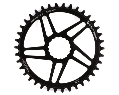 Wolf Tooth Components Cinch Direct Mount CX/Road Chainring (Black) (Flat Top) (38T)