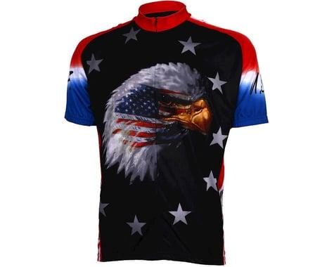World Jerseys American Eagle Short Sleeve Jersey (Red/Black)