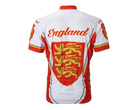 World Jerseys England Short Sleeve Jersey (Red/White)