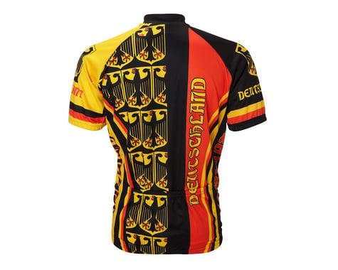 World Jerseys Germany Short Sleeve Jersey (Black/Red)