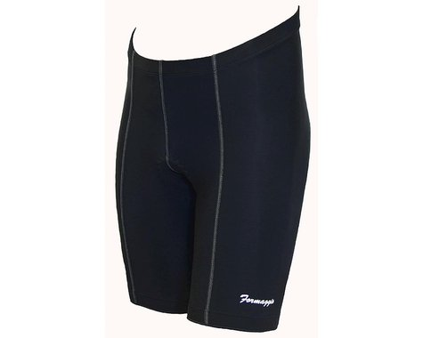 World Jerseys Formaggio 6 Panel Gel Padded Shorts (Black)
