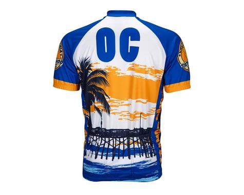 World Jerseys Orange County Short Sleeve Jersey (Blue/White)