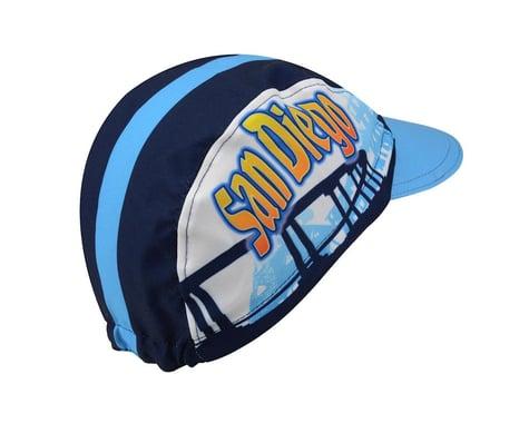 World Jerseys San Diego Cycling Cap (Blue/White)