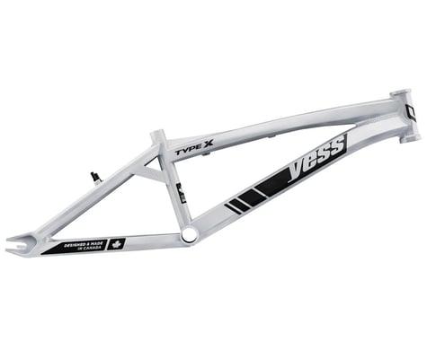 "YESS Type X 24"" Cruiser BMX Race Frame (White) (Expert)"