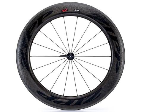 Zipp  808 Firecrest Carbon Clincher Front Wheel (Black) (Rim Brake)