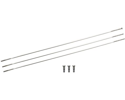 Zipp Sapim Straight Pull CXRay Spokes & Nipples (Silver) (272mm) (3-pack)