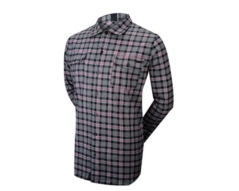 ZOIC Tradesman Long Sleeve Jersey (Black/Red)