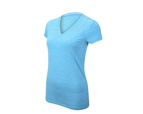 ZOIC Women's Velocity Short Sleeve Jersey (Aqua)