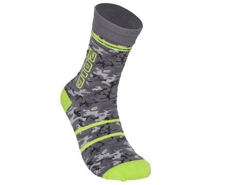 ZOIC Camo Socks (GreyCamo) (L/XL)